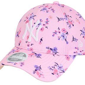 Καπέλο New Era New York Yankees Floral Pink Womens 9FORTY 60112728