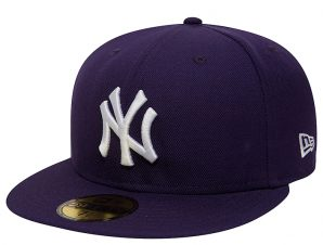 Καπέλο New Era Mlb Basic Neyyan Purp/Whi 10011572-PUR/WHI