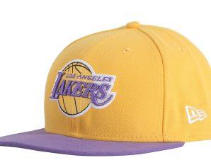 Καπέλο New Era NBA Basic LA Lakers 59Fifty 10861623-YEL/PUR