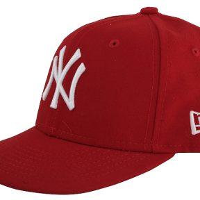 Καπέλο New Era K MLB League Basic NY Yankees 59Fifty 10879077-SCA/WHI