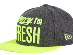 Καπέλο New Era Fresh 9Fifty Grhupy 80080737-DGRY/YE