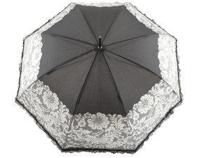 Ομπρέλα Emme Αυτόματη Mε Δαντέλα M396A-BLACK