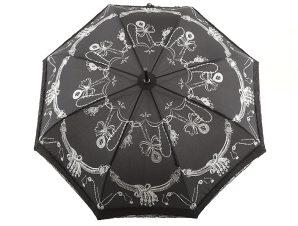 Ομπρέλα Emme Αυτόματη Με Δαντέλα M396B-BLACK
