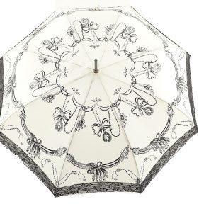 Ομπρέλα Emme Αυτόματη Με Δαντέλα M396B-WHITE
