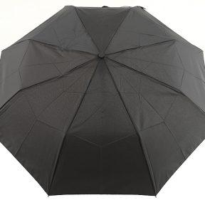 Ομπρέλα Clima Αυτόματη Σπαστή Με Χερούλι 3286-BLACK-BROWN