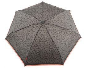 Ομπρέλα Clima Χειροκίνητη Σπαστή Animal Print 35204-BLACK