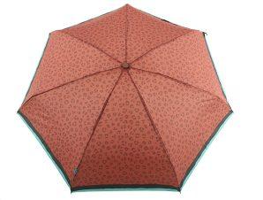 Ομπρέλα Clima Χειροκίνητη Σπαστή Animal Print 35204-BROWN