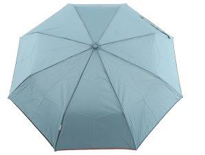 Ομπρέλα Clima Αυτόματη Σπαστή Μονόχρωμη 3580-BLUE-GREY