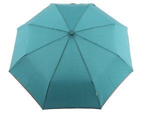 Ομπρέλα Clima Αυτόματη Σπαστή Μονόχρωμη 3580-GREEN