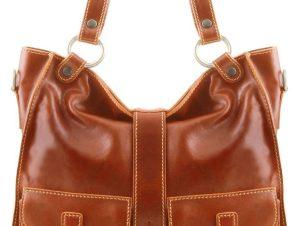 Γυναικεία Τσάντα Δερμάτινη Melissa Μελί Tuscany Leather