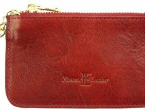 Δερμάτινο Πορτοφολάκι Key Pouch Firenze Leather 5563 Κόκκινο
