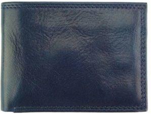 Ανδρικό Δερμάτινο Πορτοφόλι Ernesto V Firenze Leather PF112V Σκούρο Μπλε