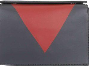 Τσάντα Ώμου Cardinali 1332-125 Ανθρακί