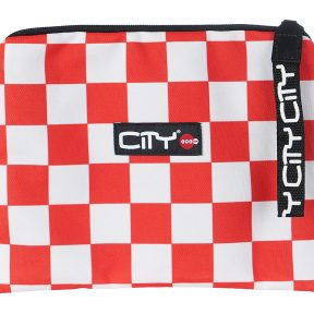 CITY-SAFE POCKET CHECKERS RED
